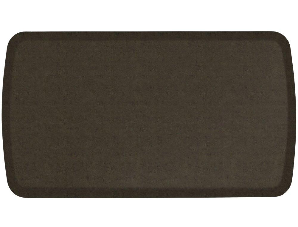Gelpro Elite Floor Mat: 20x36: Vintage Leather Pesto 109-28-2036-3