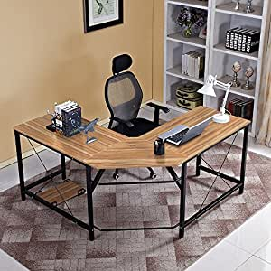 Amazon.com: Soges Furniture - Escritorio de escritorio en ...