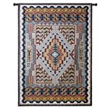 Fine Art Tapestries ''Southwest Turquoise'' Wall Tapestry, Large
