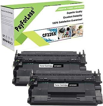 2PK For HP Laserjet Pro MFP M426fdw M402dw CF226X 26X High Yield Toner Cartridge