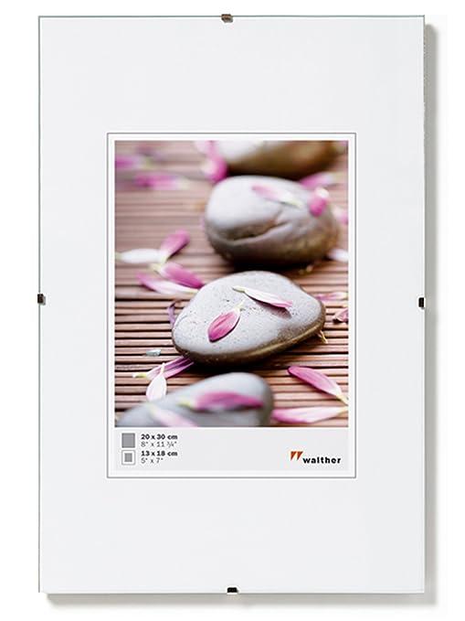 Walther Porta imágenes sin Marco Fotos, Vidrio Transparente, 70X100 Cm