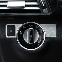 Car Automobile Center Head Light Switch Button Cover Trim