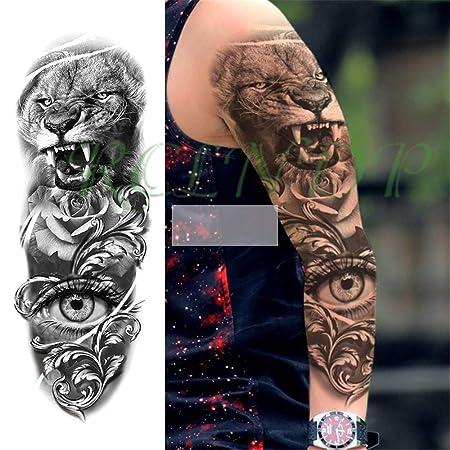 tzxdbh 3Pcs-Etiqueta engomada del Tatuaje Impermeable Taro ...