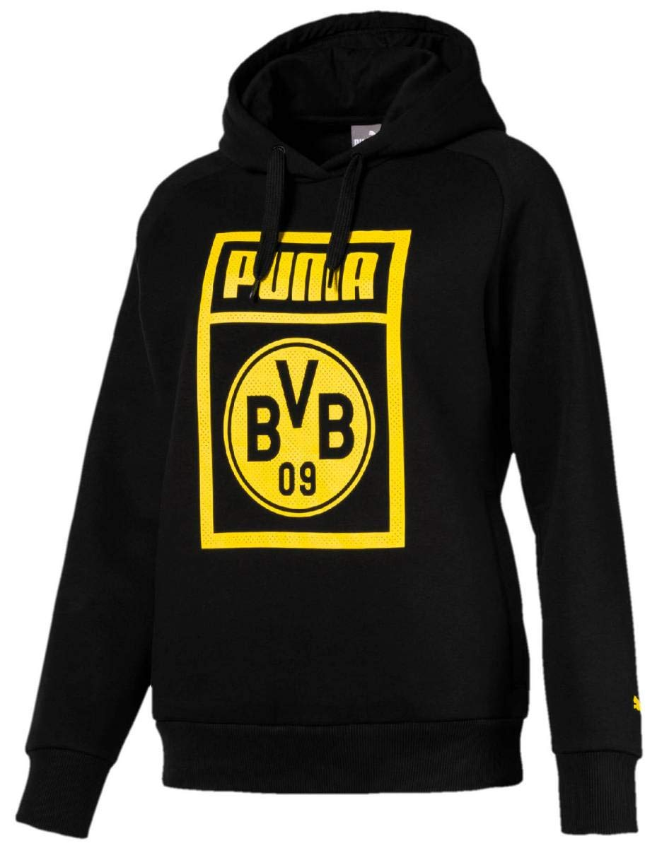 Puma Damen BVB Fanwear Hoody WMS Sweatshirt