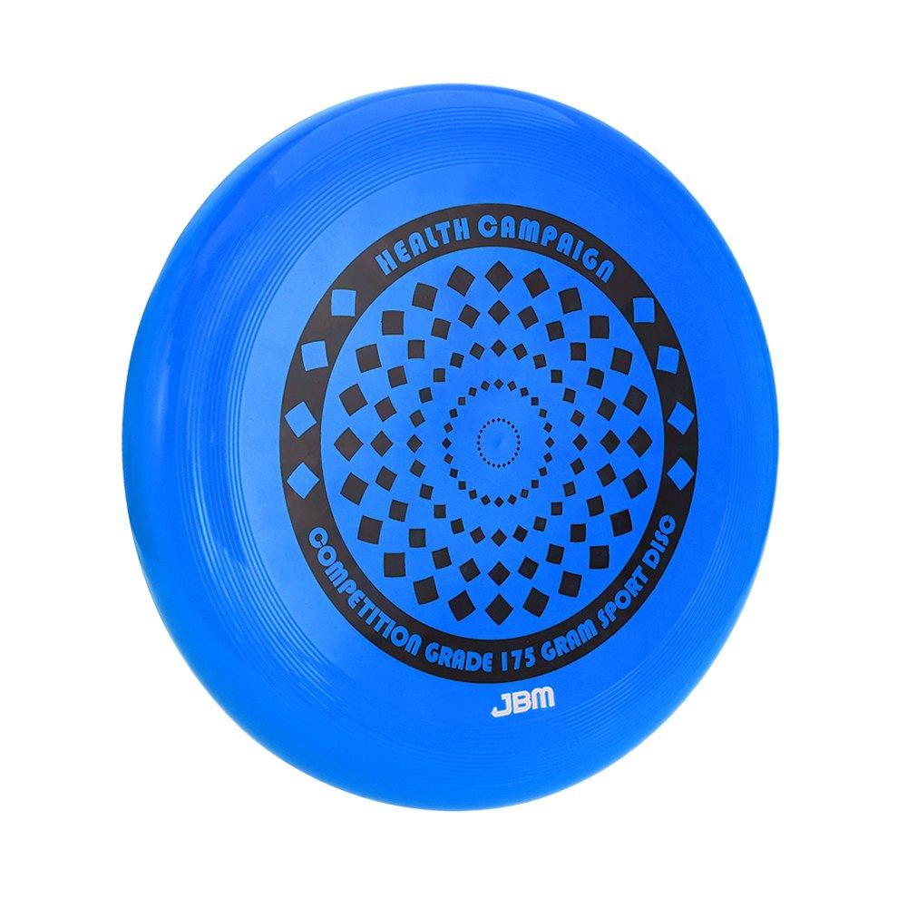 JBM Flying Sports Disc 175 Gram for Adult Kids Outdoor Beach Garden Patio Game Leisure - Blue Orange