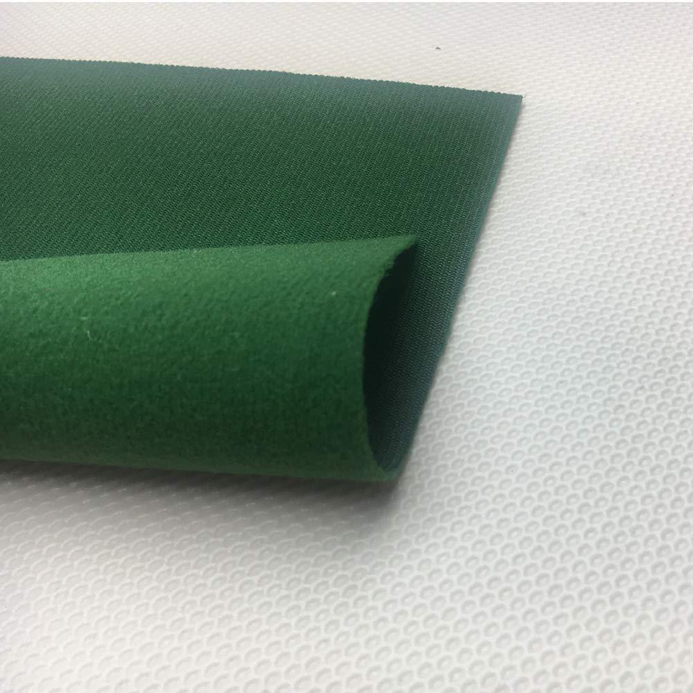 Verde Resistente a los desgarros Durable Snooker y Pa/ño de Piscina para ubicaciones comerciales Zchui Mesa de Billar de Fieltro de Mesa de Billar Bares y Clubes Tama/ño Libre