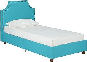 DHP Melita Linen Upholstered Platform Bed