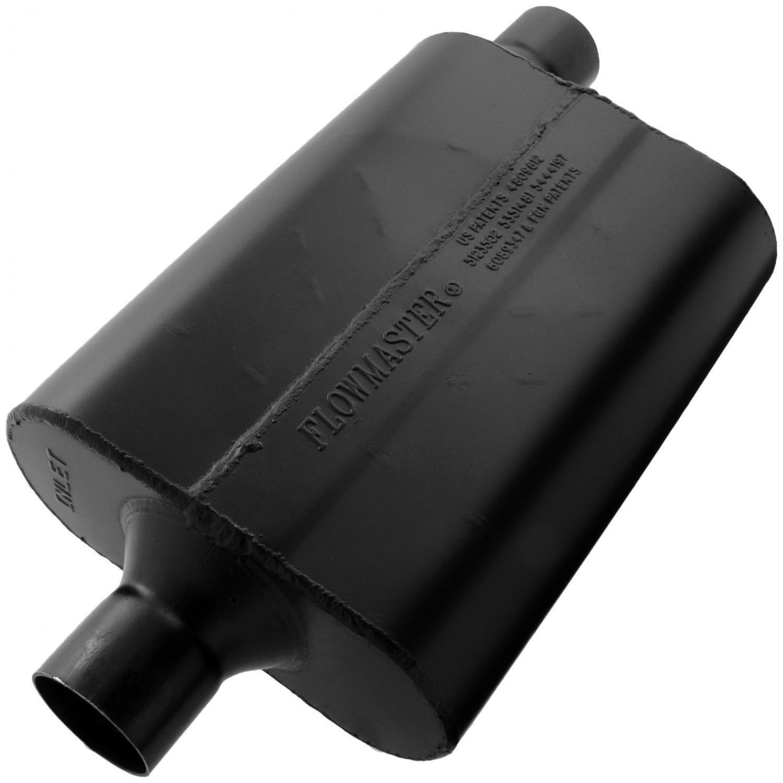 2.25 Center IN Aggressive Sound Flowmaster 942447 Super 44 Muffler 2.25 Offset OUT
