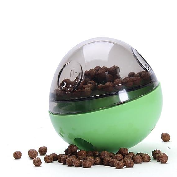 TechSmile Vaso de perro con bola de agua y huevo para huevos ...