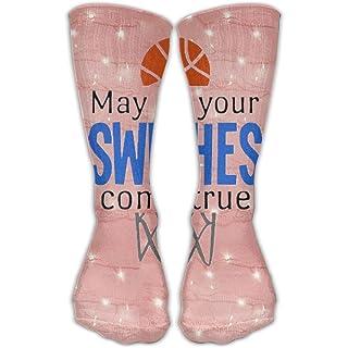 Design Basketball Sports Stylish Art Socks Boots Sock For Women &Girl