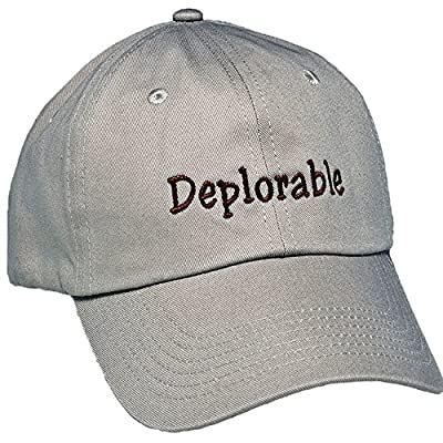Deplorable Trump Hat for Trump Supporters-Embroidered in North Carolina