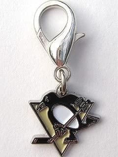 product image for Diva-Dog NHL Hockey 'Pittsburgh Penguins' Licensed Team Dog Collar Charm
