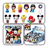 (US) Disney Collectible Figural Key Chain Key Ring ( One Blind Bag ) by NaNa