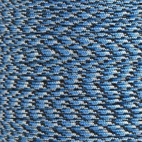 PARACORD PLANET 425パラコード (3ミリ) 10/25/50/100フィートの束 100%ナイロン製 タクティカル 手芸 サバイバル 一般使用などに B00H3O0RYK ブルースネーク 25 Feet 25 Feet|ブルースネーク