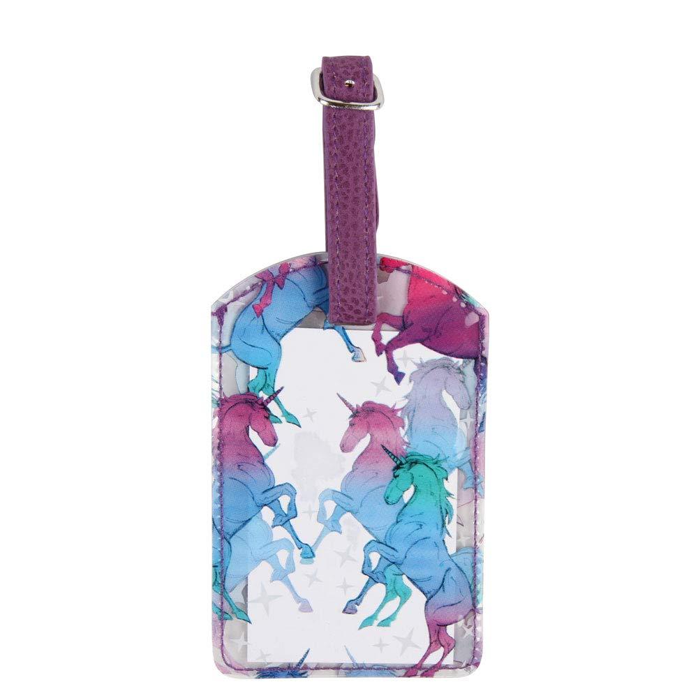 Unicorn Luggage tag Paperchase