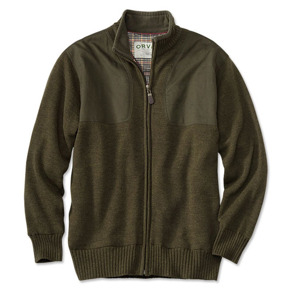 L Orvis Foul-Weather Lined Sweater