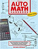 Best HP Books For College Students - Auto Math Handbook HP1554: Easy Calculations for Engine Review