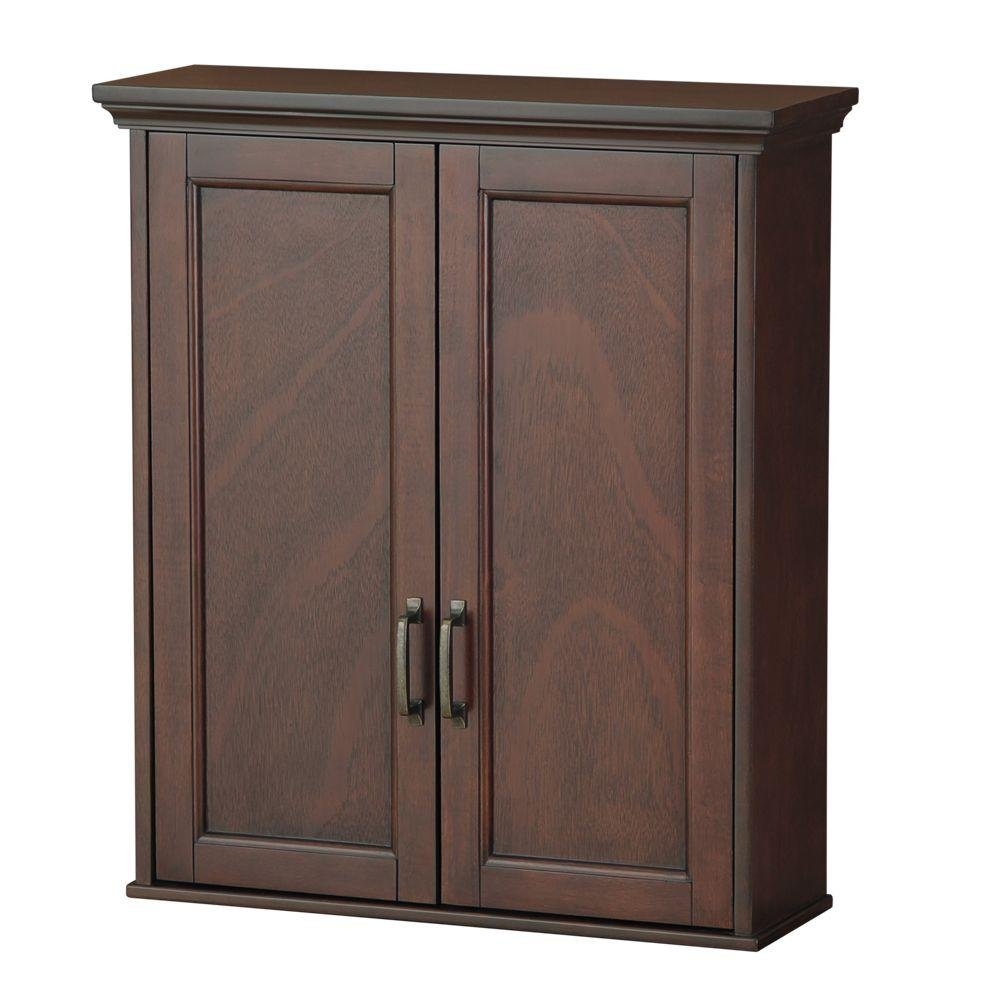 Amazon Foremost ASGW2327 Ashburn 23 1 2 Inch Wall Cabinet Mahogany Home Improvement