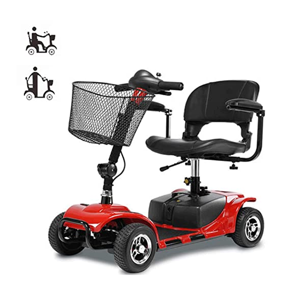 GZMUS - Wheelchair & Scooter Patinete eléctrico de Cuatro ...