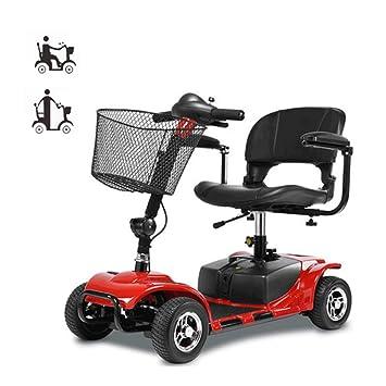 A-new Scooter Eléctrico De Cuatro Ruedas para Adultos/Discapacitados, Plegable/Ligero / Portátil: Amazon.es: Deportes y aire libre