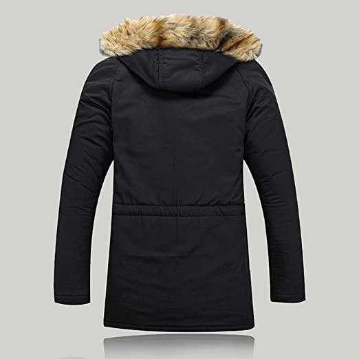 Amazon.com: Clearance! Winter Warm Coat, Fashion Solid Faux Fur Hooded Jacket Plus Size Zipper Up Outwear: Clothing