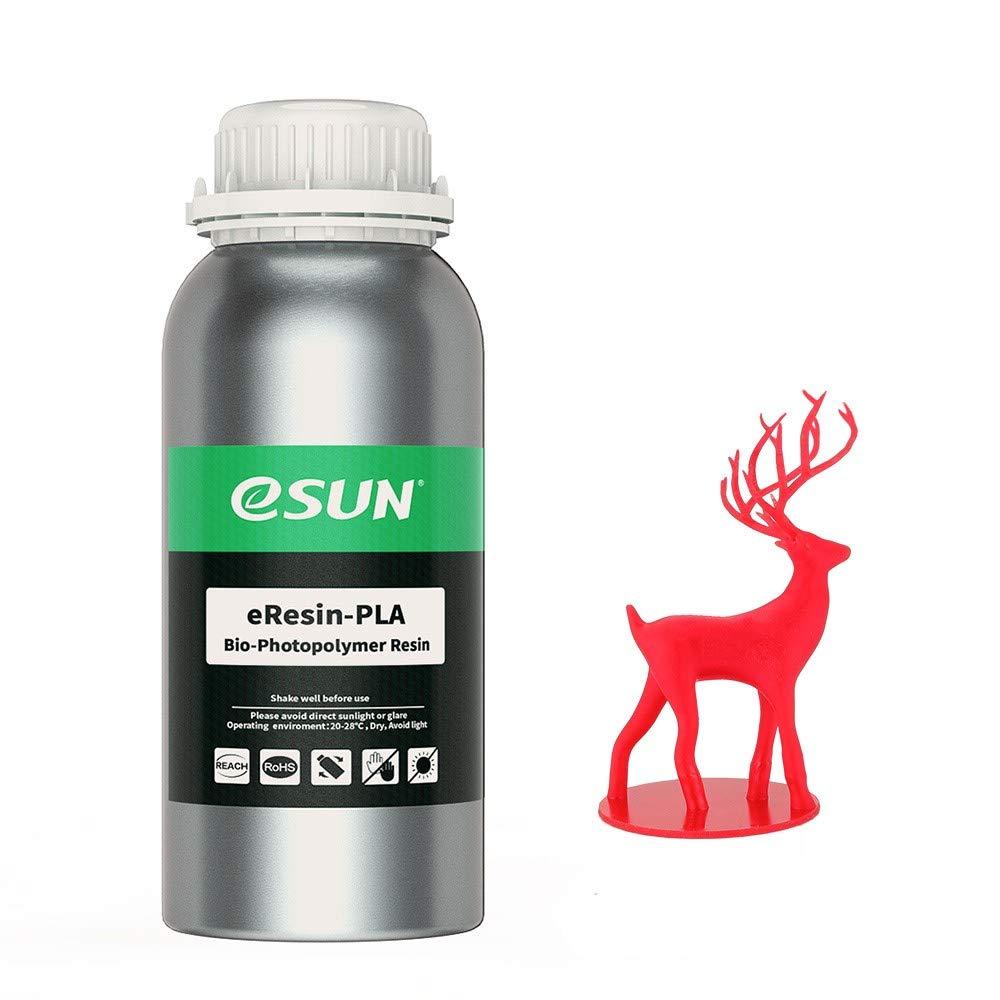 eSUN 3D Printer bio Resin for LCD 3D Printers, 500g eResin ...