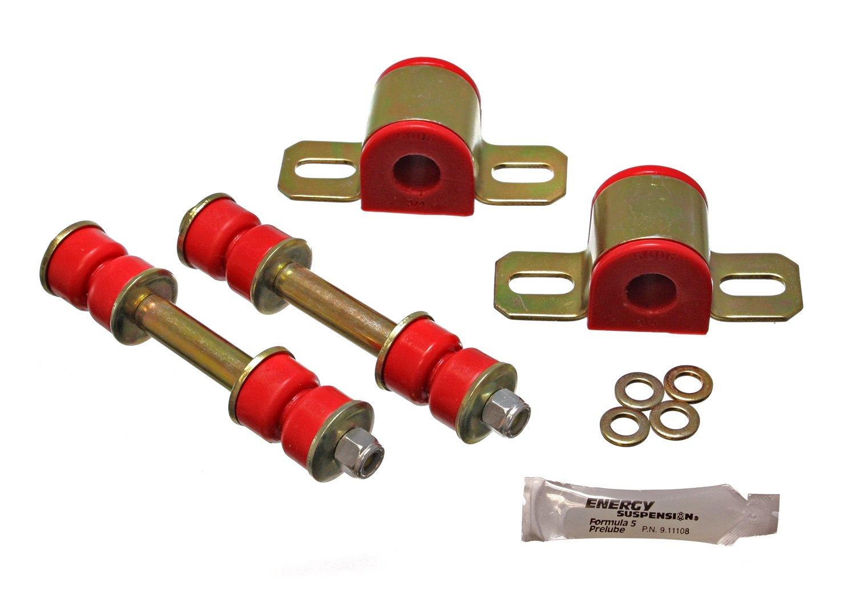 Energy Suspension 3.5161R 19mm Stabilizer Bushing Set for GM