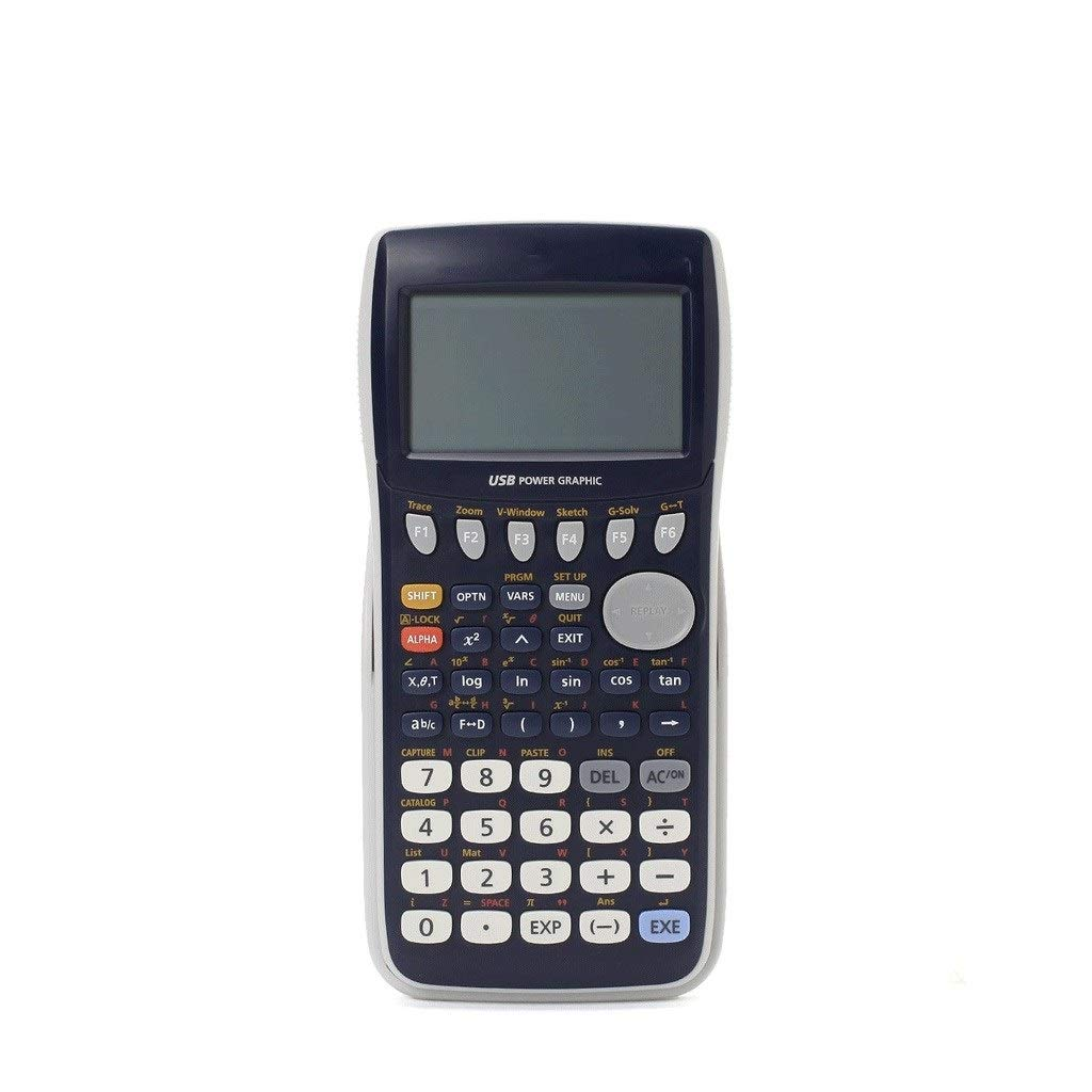 Calculators Multi-Function Drawing Calculators LED Screen Clear Eye Protection Graphic Programming Multi-Function SAT/AP Computer Office Products by LK's Shop