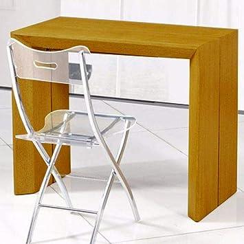 Console Repas Table Clair Inside 12 Extenso Extensible En Chêne Couverts Deluxe Bois XPkuwOTZi