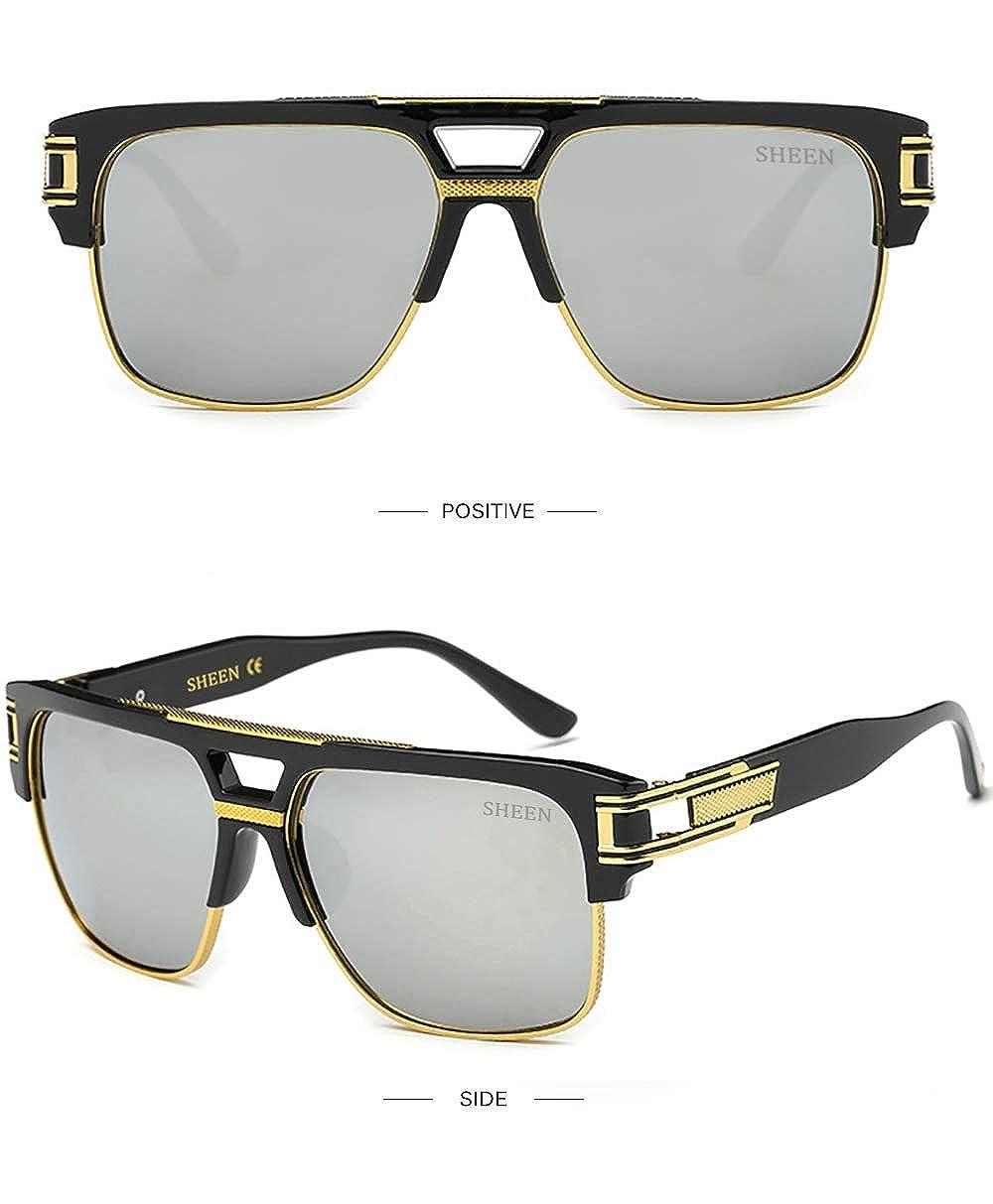 Plaza Gafas de Sol de Moda estilo Aviador Marca Retro Vintage Baratas para  Mujer y. Ampliar imagen 6d4a3c0c8a34