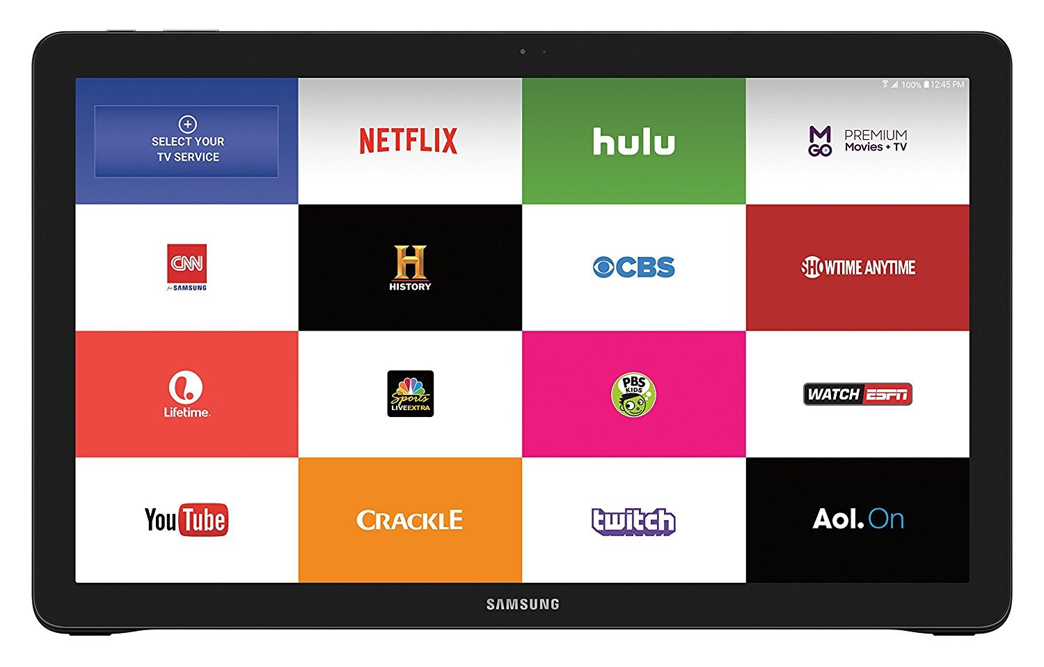 Samsung Galaxy View 64GB Wi-Fi (+ 4G LTE on AT&T) Unlocked Android 18.4'' Large-Display Tablet Computer, Black (Business Packaging / Brown Box) by Samsung