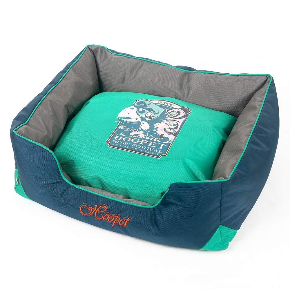 Navy bluee XL Navy bluee XL Jiaa Waterproof Removable Wash Pet Mat for Dogs