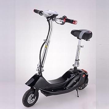 Señora Plegable Mini Coche Eléctrico de Litio Scooter Eléctrico Bicicleta Eléctrica Pequeña Batería Coche Scooter,