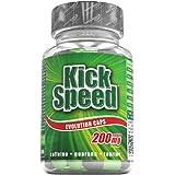 Kick Speed Evolution Caps, Guarana, Taurin, Koffein, 80 St. Dose, 1er Pack (1 x 93,2g)