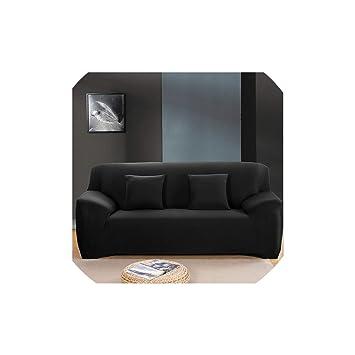 Brilliant Amazon Com Solid Color Stretch Sofa Cover Elastic Seat Machost Co Dining Chair Design Ideas Machostcouk
