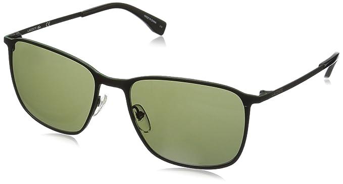 aa1684bdaef9 Amazon.com  Lacoste Men s L178S Square Sunglasses Satin Black 57 mm ...