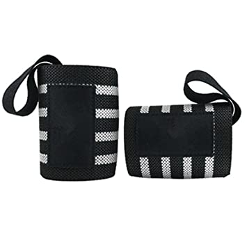 Muñequeras Crossfit Deportivas Adjustable Elásticas de Alta Resistencia, Sannysis Protección de muñecas Wrist Wraps para