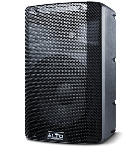 Alto Professional TX210 | 300-Watt 10-Inch 2-Way Powered Loudspeakers With Active Crossover, Performance-Driven Connectivity and Integrated Analogue Limiter ()