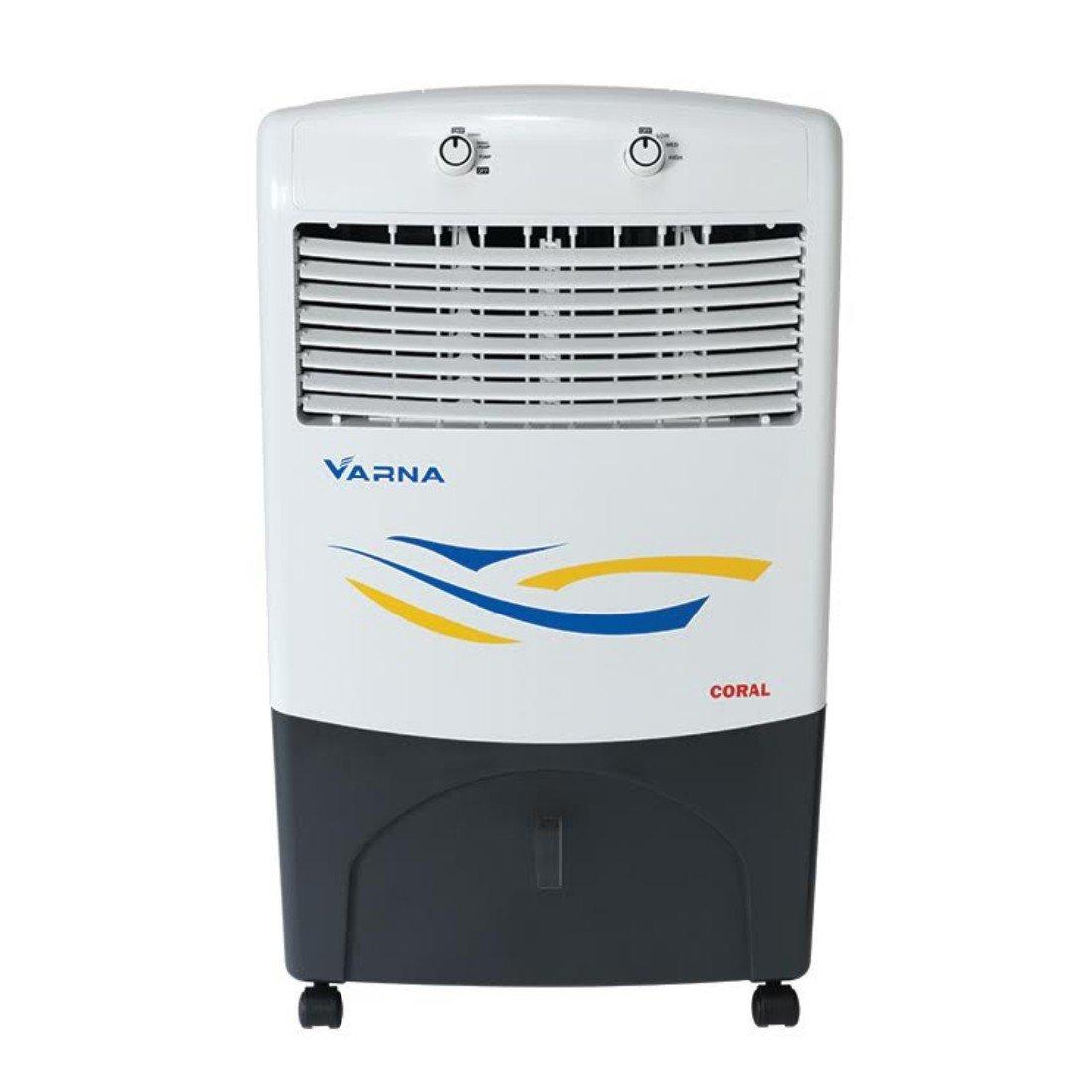 Varna CP3016B Coral Water Evaporative Personal Air Cooler - White