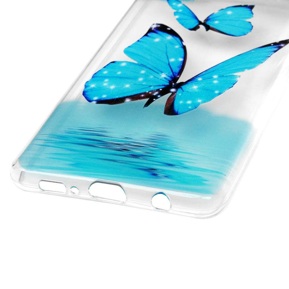 Mlorras H/ülle f/ür Samsung Galaxy S10 6.1 Zoll Gemalt Handyh/ülle Case Ultrad/ünnen Weich Flexibel Silikon TPU Schutzh/ülle Bumper Anti-Kratzer Sto/ßfest Smartphone Abdeckung Cover Feder