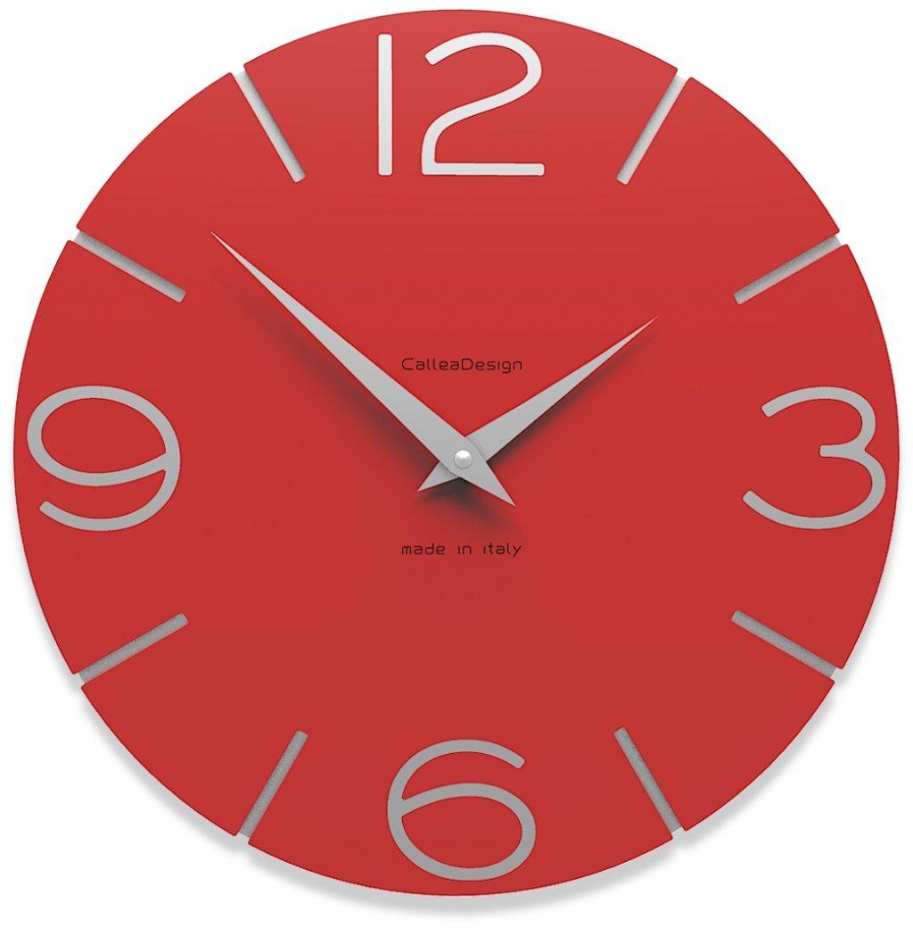 CalleaDesign 壁時計 Smile (赤い火) B00ZC1X64Y 赤い火 赤い火
