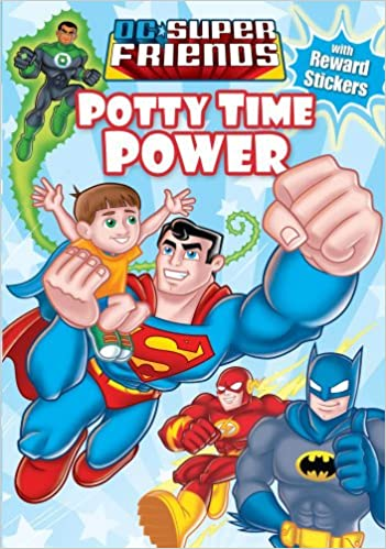 DC Super Friends Potty Time Power INTERACTIVE PAPERBACK