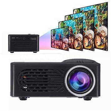 Opinión sobre El más Nuevo 7500 lúmenes 1080p HD Led Proyector portátil 320x240 Resolución Multimedia Home Cinema Movie Beamer Video Theater