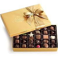 Godiva Chocolatier Assorted Chocolate Gold Gift Box, Classic Ribbon, 36 Pieces
