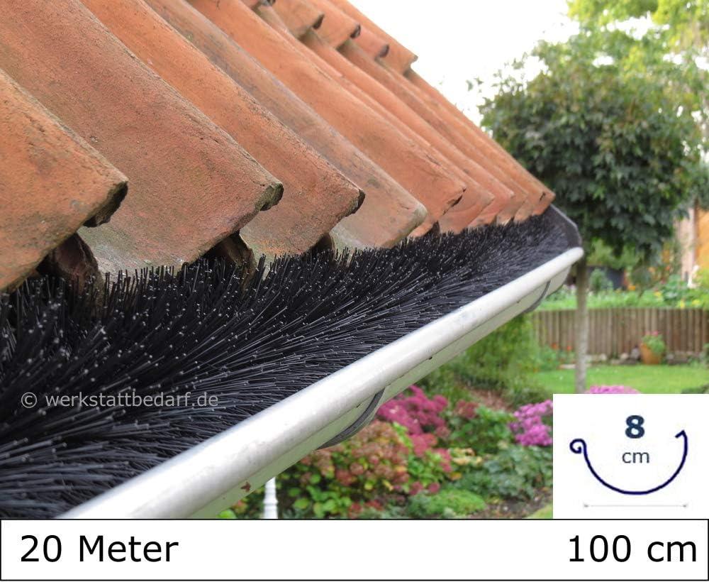 Dachrinnenb/ürste 1 Meter /Ø 5cm direkt vom Hersteller