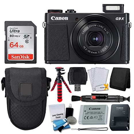 Amazon.com: Canon PowerShot G9 X Mark II Cámara digital ...