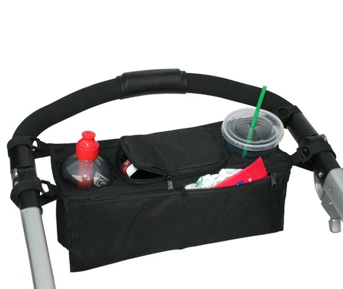 Ashdown borsa organizer Cup Holder passeggino accessori organizzatore cibo snack Storage Bag