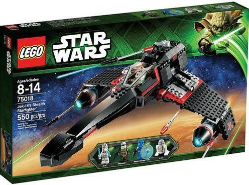 LEGO-Star-Wars-75018-Jek-14s-Stealth-Starfighter-Set-New-In-Box-Sealed