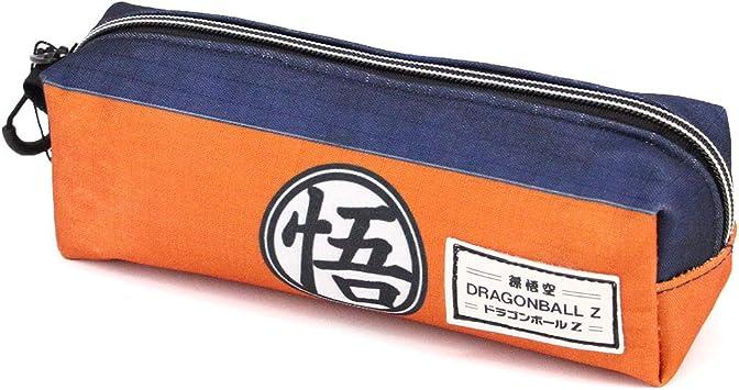 Karactermania Dragon Ball Symbol-Quadrat HS Federmäppchen Estuches 22 Centimeters Multicolor: Amazon.es: Equipaje