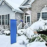 Kinbor Roof Snow Rake Removal Tool 20ft Adjustable Extendable Handle